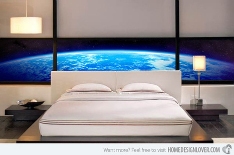 15 Wonderfully Designed Mural Wallpapers in the Bedroom | Bedroom Wallpaper | Scoop.it