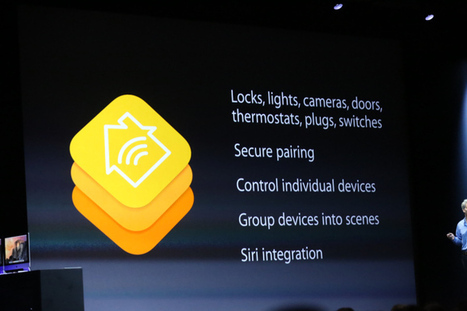Apple Introduces HomeKit To Securely Pair iPhones With Smart ... | SHARE-IT!!! | Scoop.it