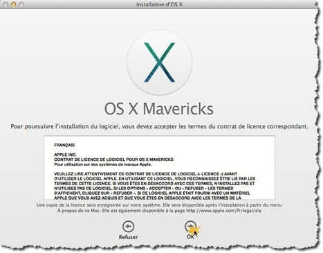 Passer gratuitement son MAC sous Mavericks. | netnavig | Scoop.it