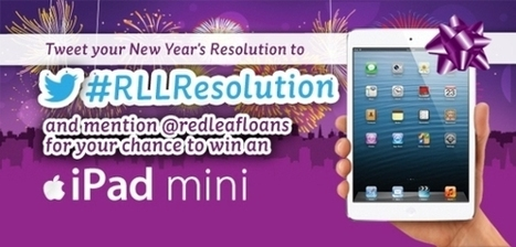 New Year's Resolution Twitter Sweepstakes | Red Leaf Loans | Contests | Giveaways | Promos | ETC | Scoop.it