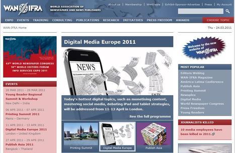 WAN-IFRA   Top sites for journalists   Scoop.it
