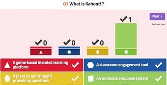 Kahoot - Create Quizzes and Surveys Your Students Can Answer on Any Device | Mobile Learning in PK-16 & Beyond... | Scoop.it