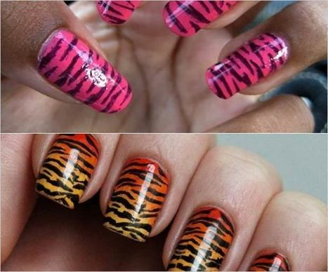 Top 9 Animal Print Nail Art! Go Wild! | Animal Nail Art | Health and Wellness | Scoop.it