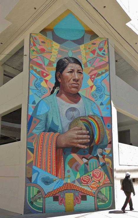 El Decertor's Colorful Murals Merge Surrealism and Peruvian Folk Art | Culture and Fun - Art | Scoop.it