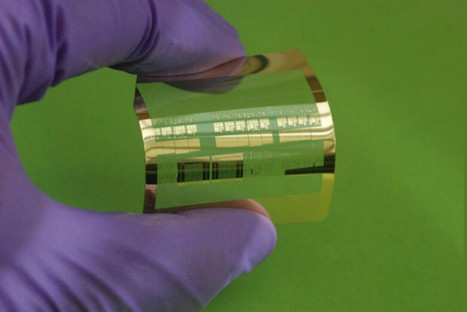 Flexible transistors that come on a roll may power next-gen wearables | Communication design | Scoop.it