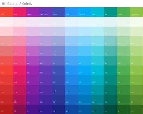 Petit précis du material design - Marketing Digital by Audencia | Web Increase | Scoop.it