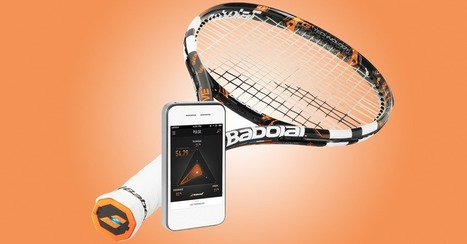 Here Comes the World's First Connected Tennis Racquet | Technology | Scoop.it