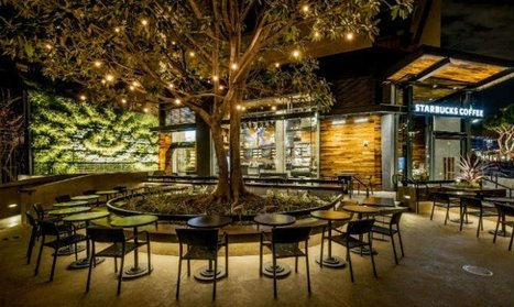 Starbucks With Trees: Second Eco-Friendly Store Opens | restaurants | Scoop.it