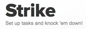 Strike - A fun and easy way to strike stuff off lists | K-12 Web Resources | Scoop.it