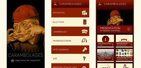 Carambolages : l'application de l'exposition | Social media for knowledge dissemination | Scoop.it