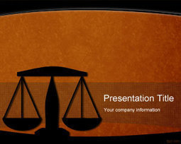 Legal PowerPoint Template | Free Powerpoint Templates | hi | Scoop.it