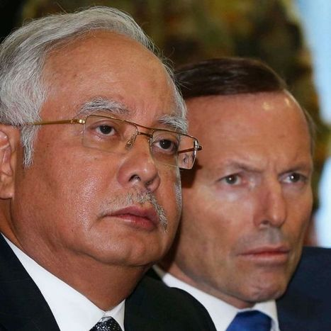 Malaysian PM Najib Razak briefed on search for MH370 | Australia's Global Links | Scoop.it