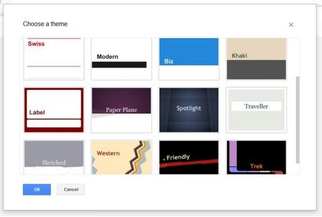 The New Version of Google Presentations | Google Sphere | Scoop.it