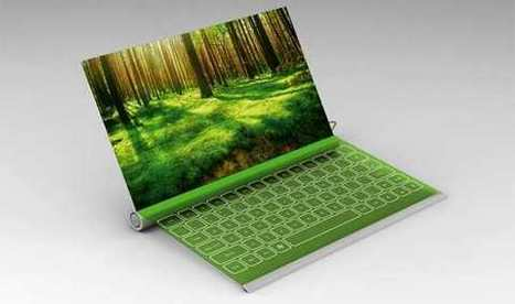 Plantbook: il notebook a energia solare che si ricarica...annaffiandolo! | Tecnologia Verde | Scoop.it