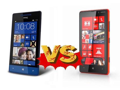 Windows Phone 8S de HTC vs. Nokia Lumia 820 | Tecnología 2015 | Scoop.it