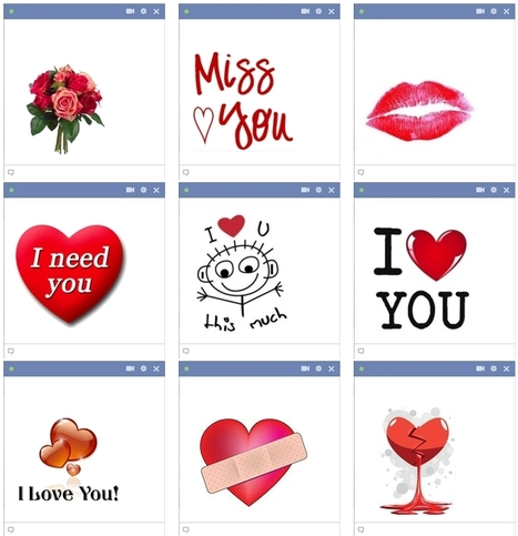 Love Emoticons For Facebook Chat | heart | Scoop.it