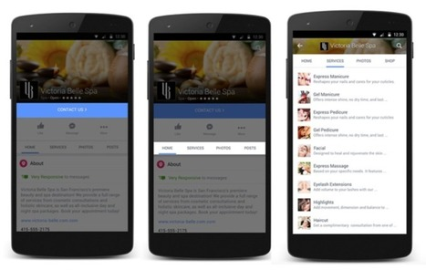 Facebook To Small Businesses: Use Pages As Your Primary Mobile Solution | Digital Brand Marketing | Scoop.it
