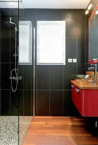 idées déco salle de bains petits surface | deco salle de bain | Scoop.it