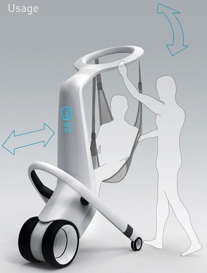 MediRobot To Lift And Transport In-Hospital Patients | A Drunk Designer | Scoop.it