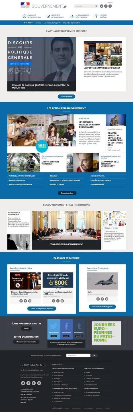 Nouveau site internet pour le gouvernement [Scoop.it inside] | Scoop.it on the Web (FR) | Scoop.it