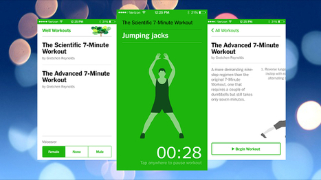 Get the Scientific 7-Minute Workout on Any Device with This Web App - Lifehacker | Web Apps | Scoop.it