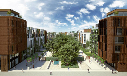 Innovation + Sustainability at Marthashof Urban Village, Berlin | sustainable architecture | Scoop.it