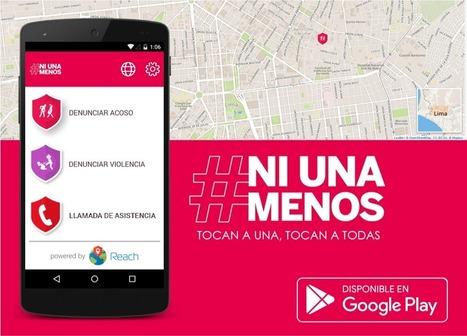 Aplicación basada en geolocalización: #NiUnaMenos App | MAZAMORRA en morada | Scoop.it