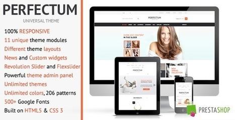 Perfectum – Premium Responsive PrestaShop theme! (Shopping) Download | eCommerce Templates Download | Scoop.it