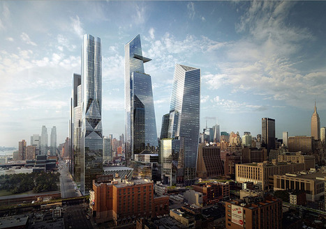hudson yards master plan breaks ground on first tower | VIM | Scoop.it