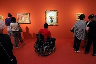 Accessibilité des personnes handicapées dans les lieux culturels, où en est-on? | le handicap dans notre société, accessibilité et règlementation. | Scoop.it