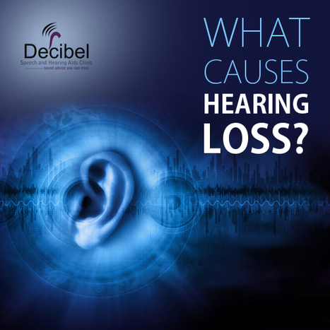 #DIDYOUKNOW that there are MULTIPLE reasons for HEARING LOSS ranging from LOUD NOISE to ACCIDENTS. | Decibel Speech and Hearing Clinic | Scoop.it