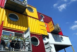 Shipping containers: Think inside the box - Architecture, Arts & Entertainment - The Independent   Container Architecture   Scoop.it
