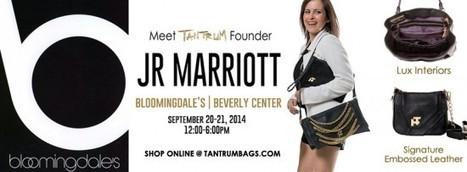 Tantrum handbag designer JR Marriott Meet and Greet at Beverly Center Bloomingdale's | Best of the Los Angeles Fashion | Scoop.it