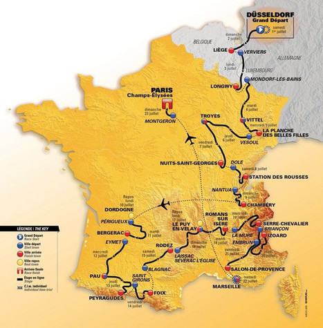 Le Tour de France de retour en Aveyron | L'info tourisme en Aveyron | Scoop.it