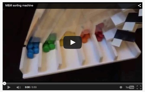Enfin une machine à trier les couleurs des M&M's | Hightech, domotique, robotique et objets connectés sur le Net | Scoop.it