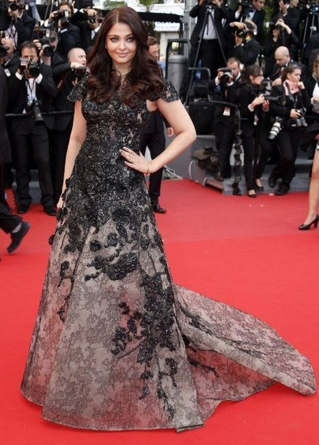 Newly Slim Aishwarya Rai at Cannes 2013 | Red Carpet Fashion | Scoop.it