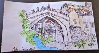 Un pont sur la Neretva | Géographie : les dernières nouvelles de la toile. | Scoop.it