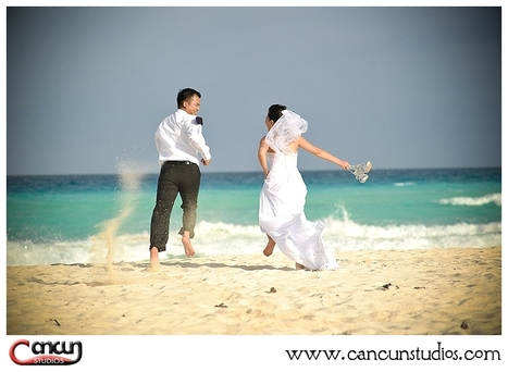 Kenny and Sue - Wedding Photo Session - Blog | Cancun Photos ... | Caribbean Weddings | Scoop.it