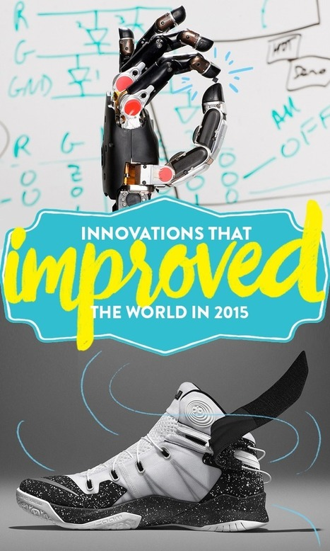 26 incredible innovations that improved the world in 2015 | Creators Lab | Scoop.it