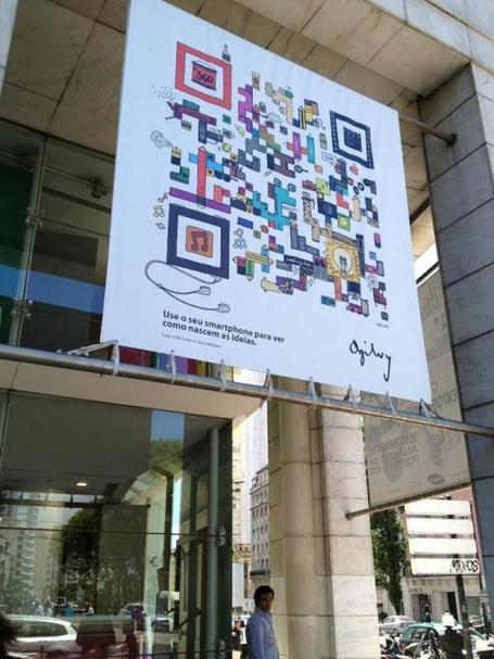 QR design by Ogilvy | Design Revolution | Scoop.it
