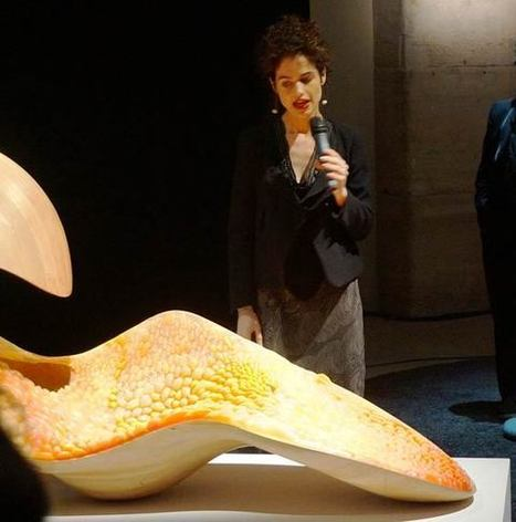 See the World Premiere of Neri Oxman's Gemini Acoustic Chaise at Le Laboratoire, Paris - Stratasys Blog | Additive Manufacturing News | Scoop.it