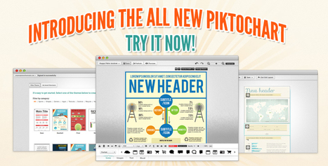 Piktochart: Infographic Tool for Non-Designers | Learning with Infographs | Scoop.it