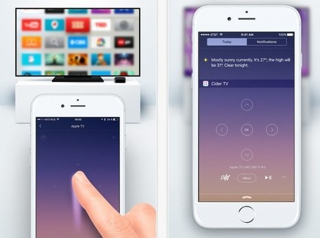 [Tutorial] CiderTV: Control Apple TV From iPhone's Lock Screen | Technology | Scoop.it