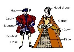 Elizabethan Attire- Men and Women | Roman vs. Elizabethan Attire | Scoop.it