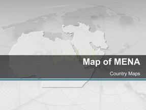 MENA - Editable PowerPoint Map   got u mate   Scoop.it