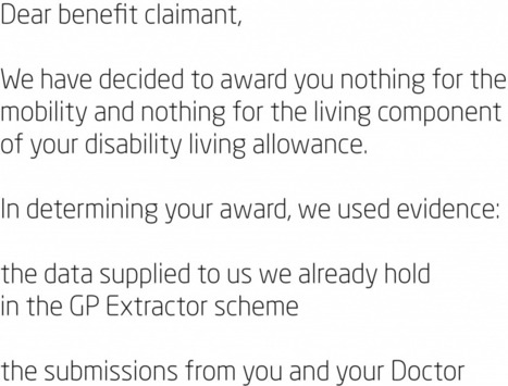 Confidentiality and disclosure: ATOS, GP extractor scheme and benefits claims | Legal Aware | Welfare,Disability,News,Politics,Housing,NHS | Scoop.it