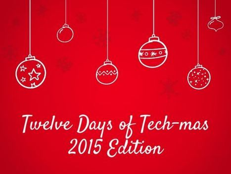 Twelve Days of Tech-mas 2015 Edition | Creativity in the School Library | Scoop.it