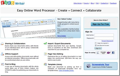 An Online Word Processor : Best Online Alternative To Microsoft Word | Le Top des Applications Web et Logiciels Gratuits | Scoop.it