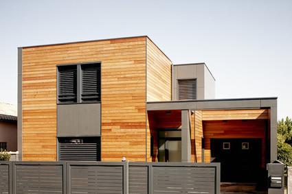 [inspiration] Maison bois L33 - par Cendrine Deville Architecte | Le flux d'Infogreen.lu | Scoop.it