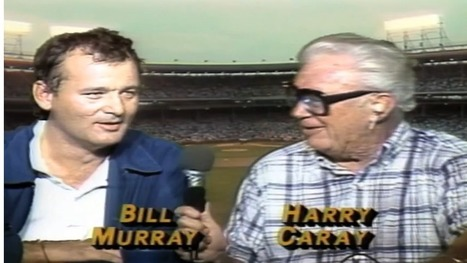 Watch Bill Murray And Harry Caray Kick Off The Cubs' First Night Game - Deadspin | Chicago Cubs | Scoop.it